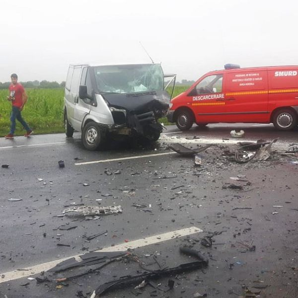 Accident mortal pe DN2, între Coșereni și Movilița