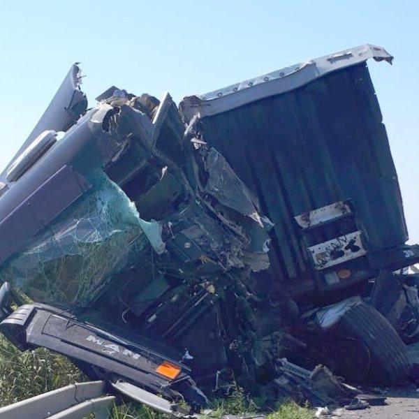 Accident mortal pe DN2A, între Țăndărei și Giurgeni