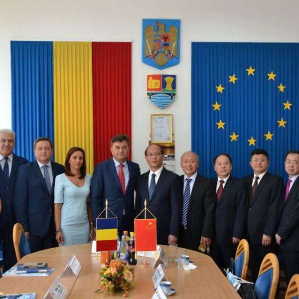 O delegație a Guvernului Provinciei Jiangxi din Republica Populară Chineză, prezentă în Ialomița