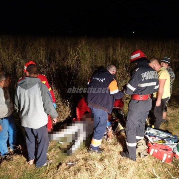 Ialomița: S-a activat Planul Roșu. Accident rutier la Orboești.