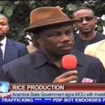 VIDEO: Anambra Govt Signs MOU to Improve Rice Production in Igboland