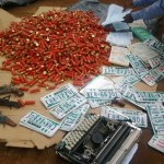 Anambra: Police Parades 40 Suspected Fake Number Plates Manufacturers