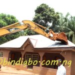 Two More Kidnappers' Houses Knocked Down in Anambra