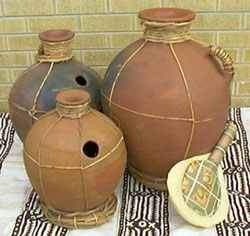 Udu potery drum - Igbo Traditional Musical Instruments