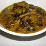 STEP-BY-STEP: Preparing Ofe Owerri And Pounded Yam