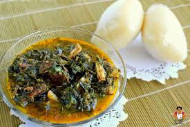 ofe owrri and pounded yam