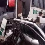 How over 60 escaped death as luxury bus, petrol tanker crash in Awka