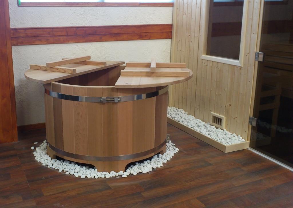Bain japonais ofuro en bois fabriqu en France  Obiozz