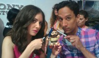 Abed, Annie and Lil Obi in the moooornnning!