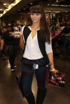 Awesome Genderbent Han Solo