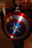 This guy made an awesome Captain America Shield
