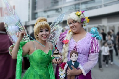 Tink and Repunzel