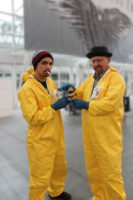 Chillin with Jesse Pinkman and Walter White Cosplay
