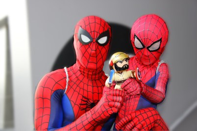 Awesome Spider-Man and Son @timiglide007