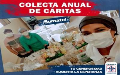 """«Tu generosidad aumenta la esperanza"""", 13 y 14 de junio Colecta Anual de CÁRITAS"""