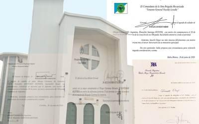 Salutaciones en el 63° Aniversario del Obispado Castrense de Argentina