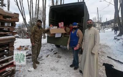 Tierra del Fuego | Fieles castrense de la Capilla ANAU repartieron juguetes en Ushuaia y Tolhuin