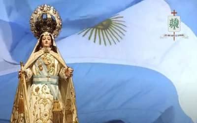 Mons. Olivera | Pongo bajo la mirada de la Virgen, la vida de todos, que el manto de María los proteja, los sostenga, los anime y los consuele en esta vocación de servir a la Patria
