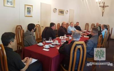 CABA | El Obispo Castrense de Argentina se reunió con Vicarios y Delegados Episcopales de nuestra Diócesis