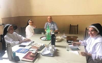 Córdoba | Mons. Olivera visitó la Casa Madre de las Hnas. Dominicas de San José y dialogó sobre su fundador, Fray Reginaldo Toro o.p.
