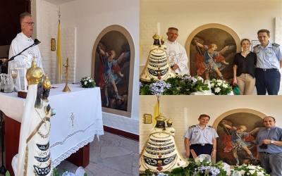 Córdoba | Efectivos de la FAA peregrinaron junto a Ntra. Sra. de Loreto en la Solemnidad de la Santa Patrona de la Fuerza