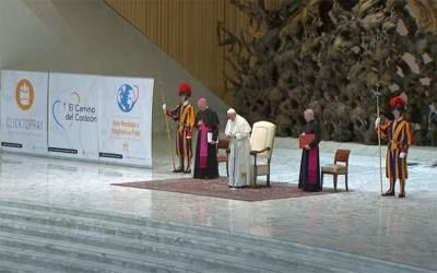 Papa Francisco   Recemos para que nuestra relación con Jesucristo se alimente de la Palabra de Dios y de una vida de oración