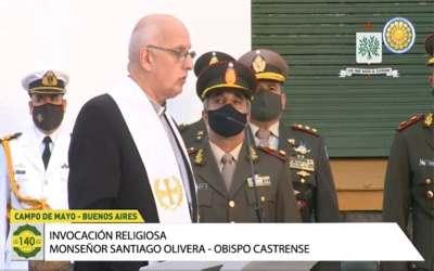 Mons. Olivera   Sean honorables servidores de la Patria y de sus conciudadanos