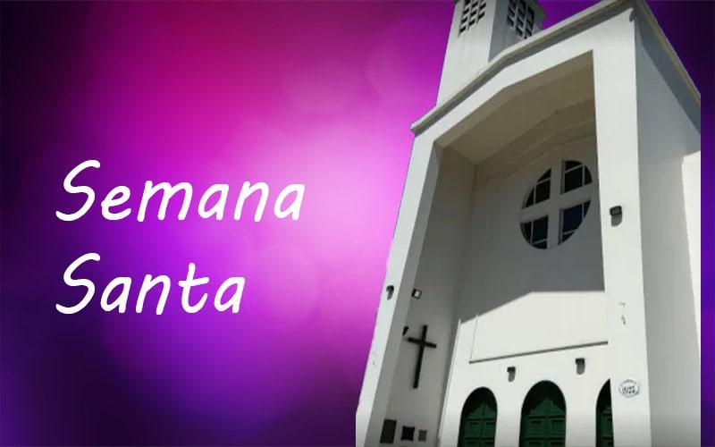 Celebramos Semana Santa en nuestra Iglesia Catedral Castrense, Stella Maris