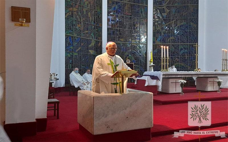 Mons. Olivera | El amor cristiano, es un amor que ama sin medida, ama siempre, por lo tanto, espera y confía siempre