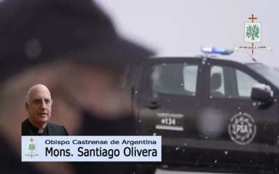Mons. Olivera | Que el Señor los bendiga, los sostenga, que mantengan siempre la cordialidad y la acogida como signo y en nombre de nuestra República Argentina