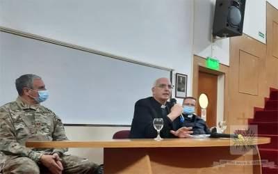 CABA | El Obispo Castrense de Argentina realizó visita Pastoral al HMC, Cirujano Mayor Dr. Cosme Argerich