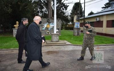 Buenos Aires | Mons. Olivera visitó la Región 1 de GNA, donde además entronizó y bendijo la imagen de Santo Brochero