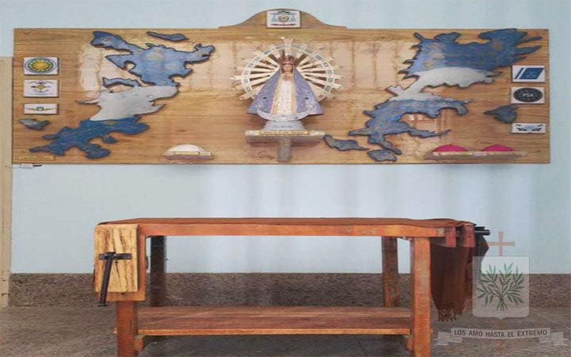 CABA   En la Catedral Castrense, Stella Maris, Mons. Olivera bendecirá el Oratorio a Ntra. Sra. de Luján y las banderas de todas las provincias Argentinas