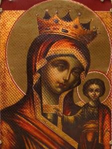 Казанская-Высочиновская икона Божьей Матери