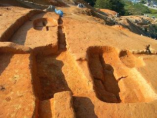 大和國古墳墓取調室