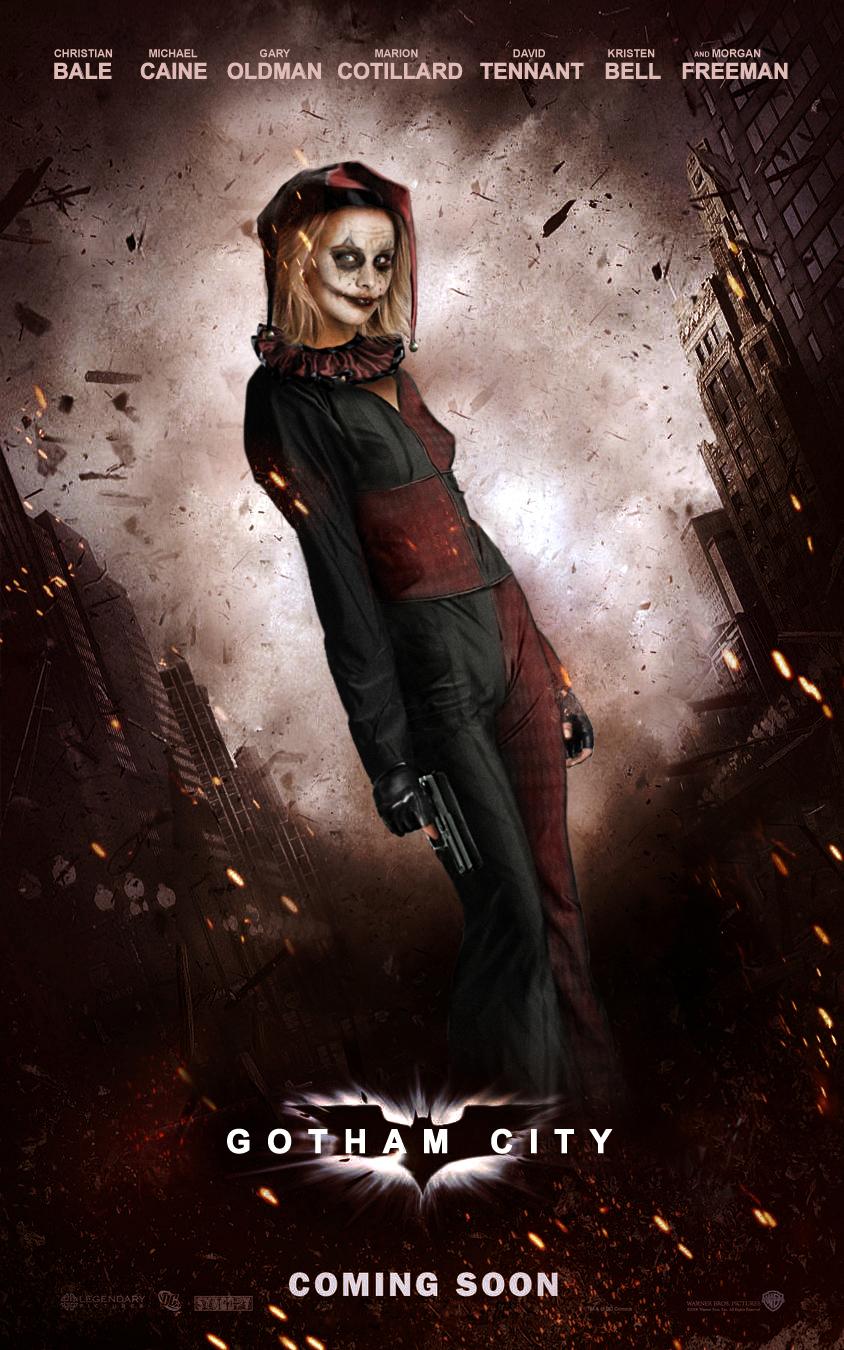 Kristen Bell como Harley Quinn
