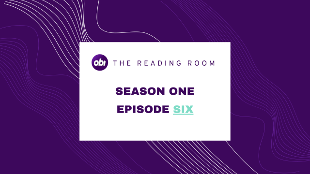 The reading room Season one episode five title card