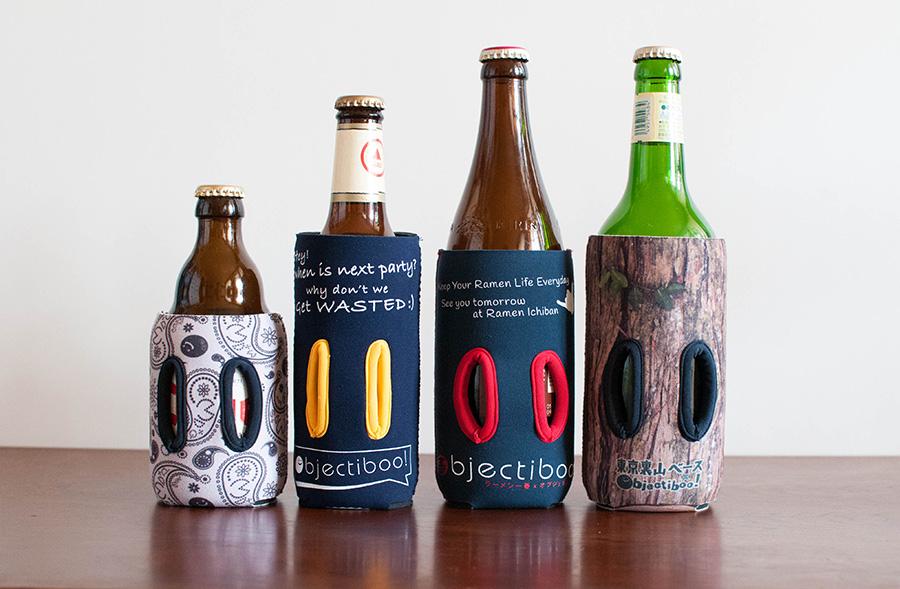 瓶ビールに通せるクージー
