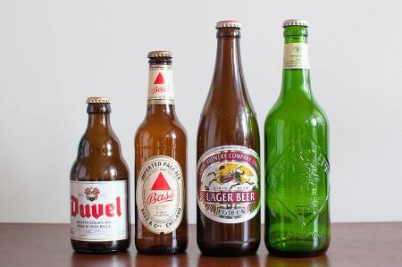 検証した瓶ビール