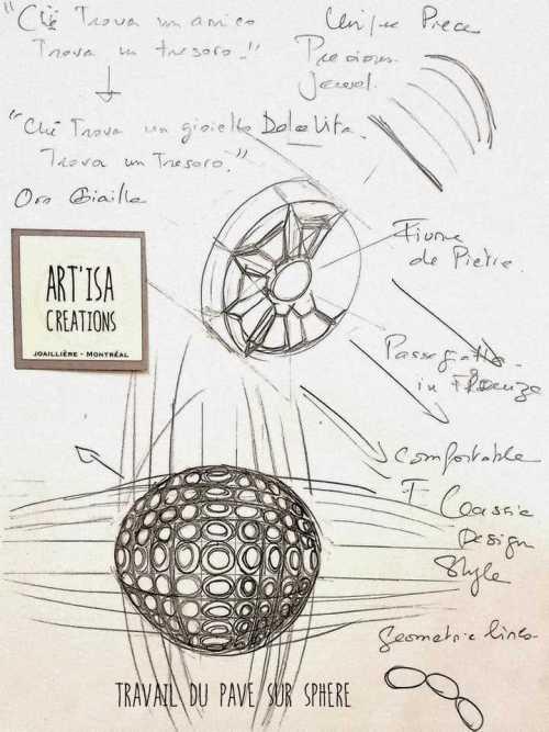 dessin de bijoux
