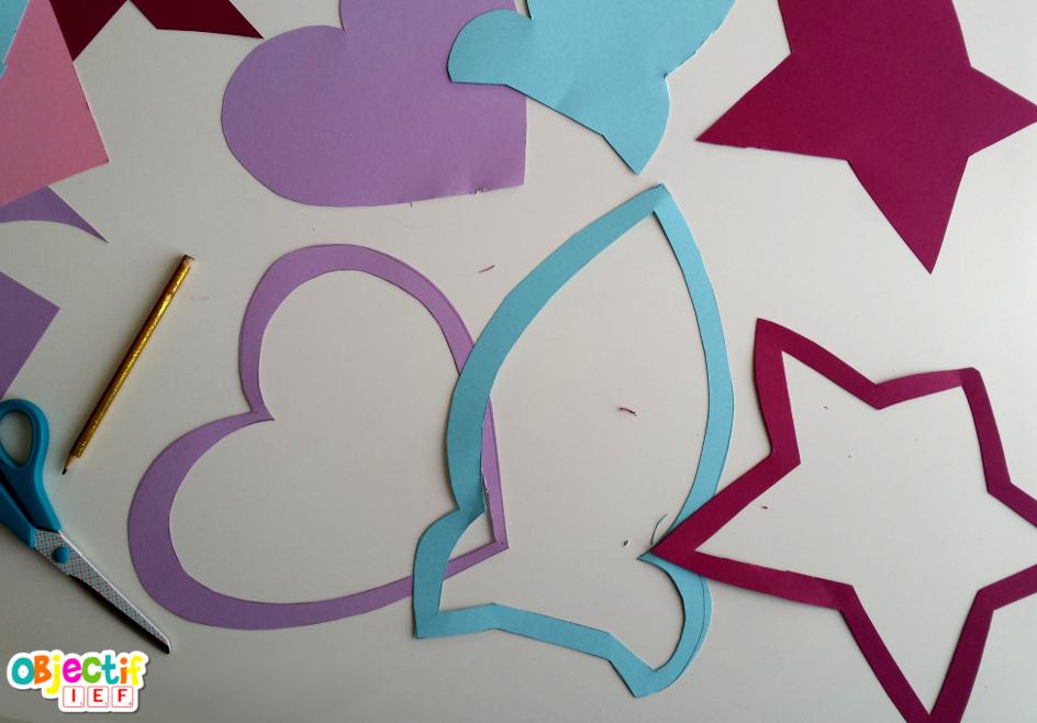 attrape soleil en papier crépon Objectif IEF activité créative enfant