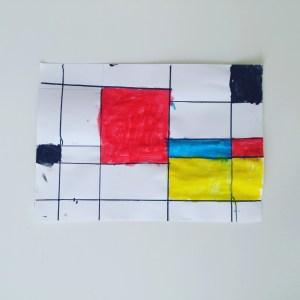 A la manière de Mondrian Objectif ief art visuel