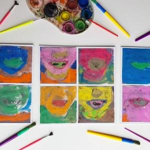 A la manière de Andy Warhol objectif ief art visuel