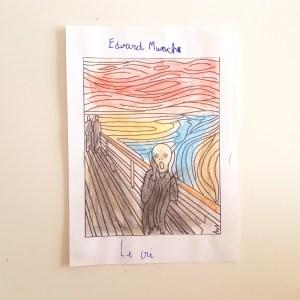A la manière de edvard munch objectif ief art visuel