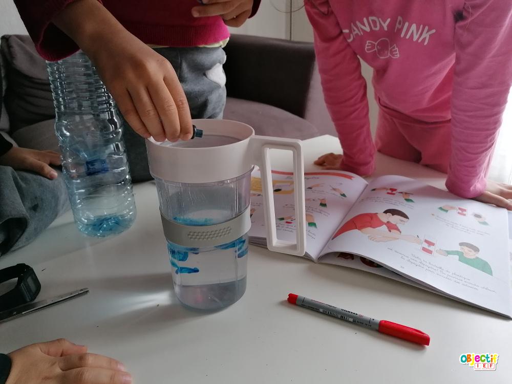 outils mesure temps découverte du monde ddm cycle 2 cp ce1 temps ief instruction en famille école à la maison fabrication clepsydre