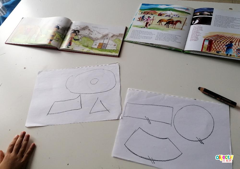 tour du monde ief mongolie yourte bricolage mongol activité enfant mongolie feutrine ief instruction en famille