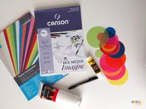 Parapluies japonais art visuel japon ief instruction en famille tour du monde ief objectif ief école à la maison projet DDM kids art japan