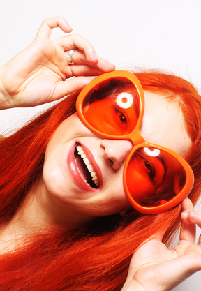 lunettes pour voir la vie en positif