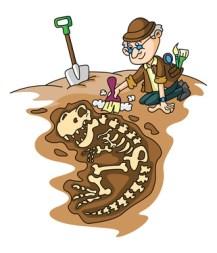 archéologue en fouille