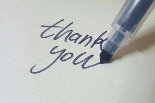 acceptation et gratitude